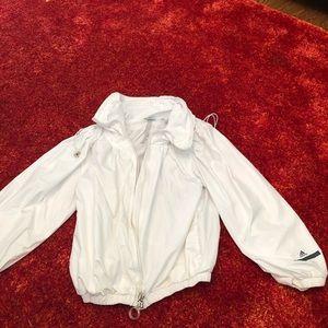 Stella McCartney xsmall white puffer tennis jacket